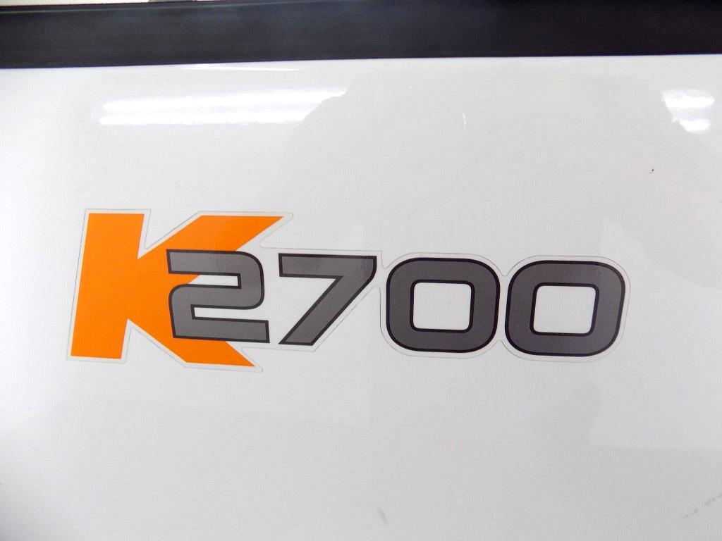 2018 K2700 SINGLE WHEEL