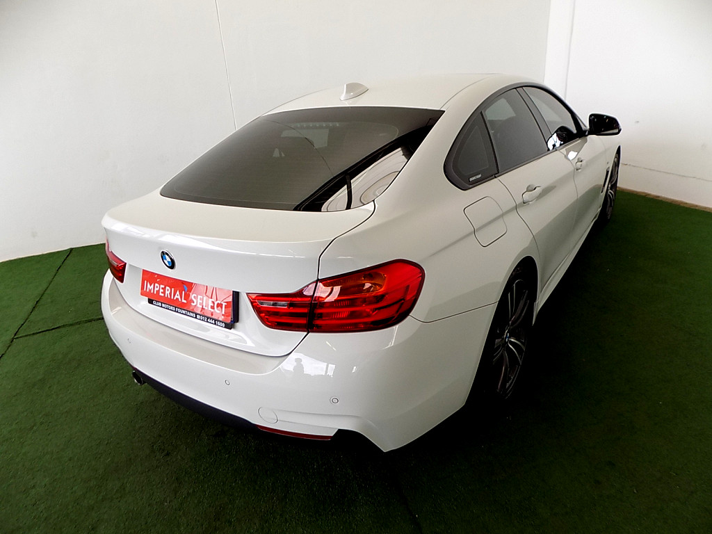 2016 BMW 4 SERIES GRAN COUPE 420i M SPORT STEPTRONIC