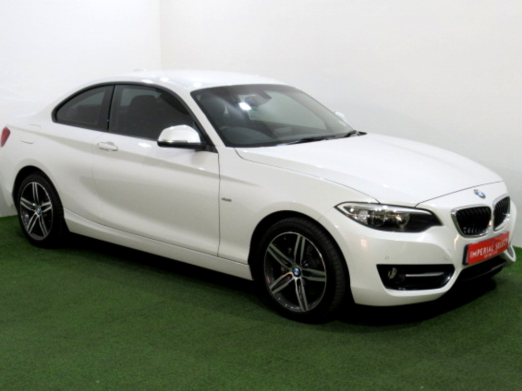 2016 Bmw 2 Series 220i Sport Line A T F22 At Imperial