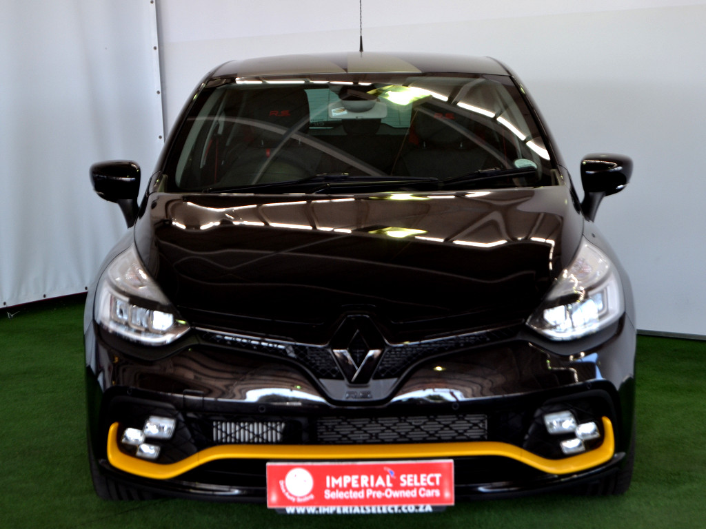 2018 renault clio clio iv rs 18 f1 edc at imperial select cape town. Black Bedroom Furniture Sets. Home Design Ideas