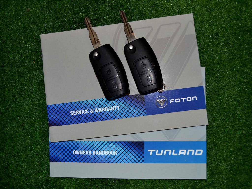 2018 FOTON TUNLAND 2.8 ISF S/CAB ON ROAD COMFORT 4X2