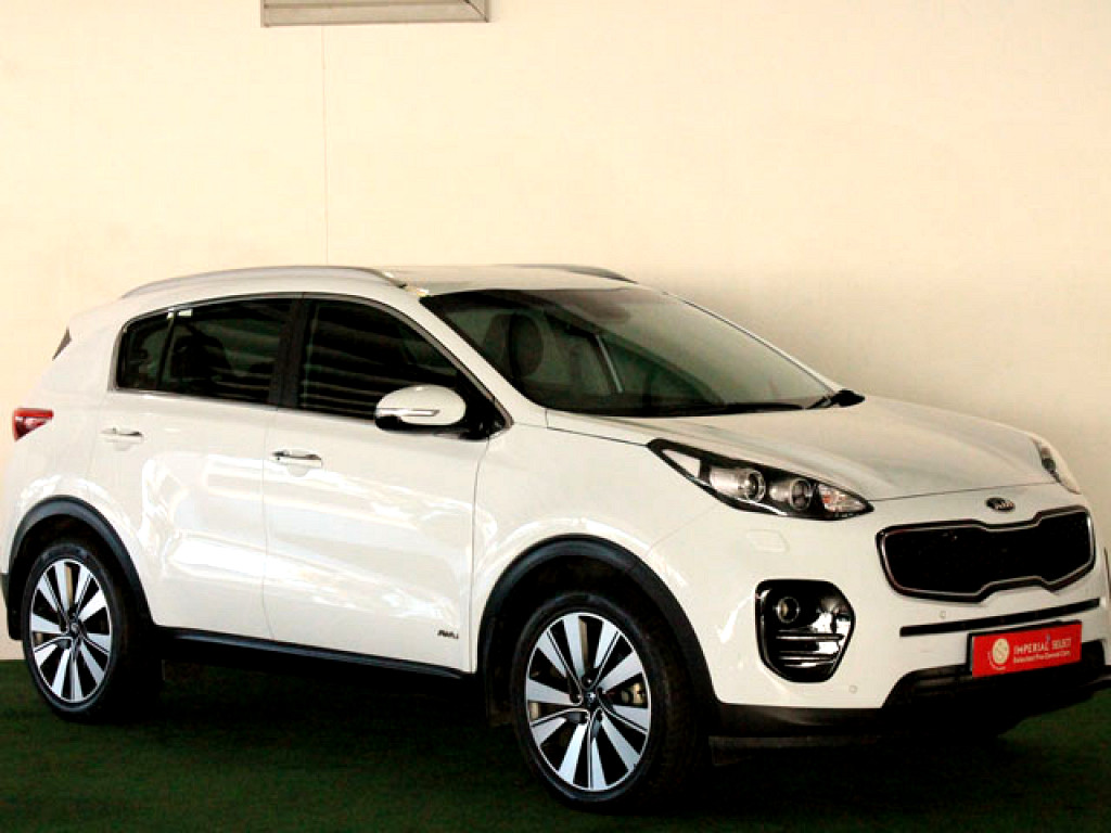 2018 KIA SPORTAGE 2.0 CRDi SX 4X4 AT