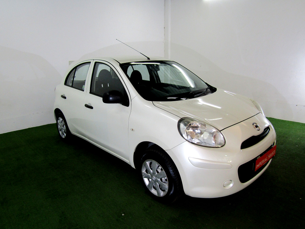 2011 nissan micra 1 2 visia at imperial select roodepoort. Black Bedroom Furniture Sets. Home Design Ideas