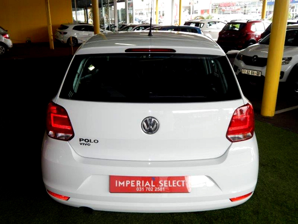 2018 Volkswagen Polo Vivo 1 4 Trendline 5dr At Imperial