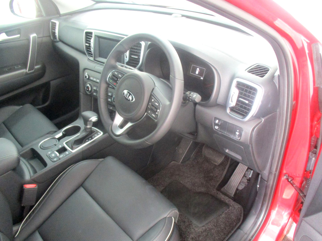 2018 SPORTAGE 2.0 CRDI SX A/T AWD