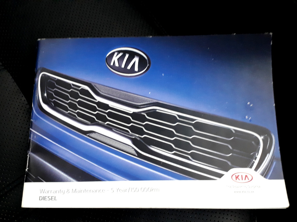 2015 KIA SPORTAGE 2.0 CRDI SR TEC A/T