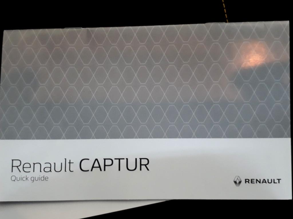 2019 RENAULT CAPTUR 1.2T DYNAMIQUE 5DR (88KW)