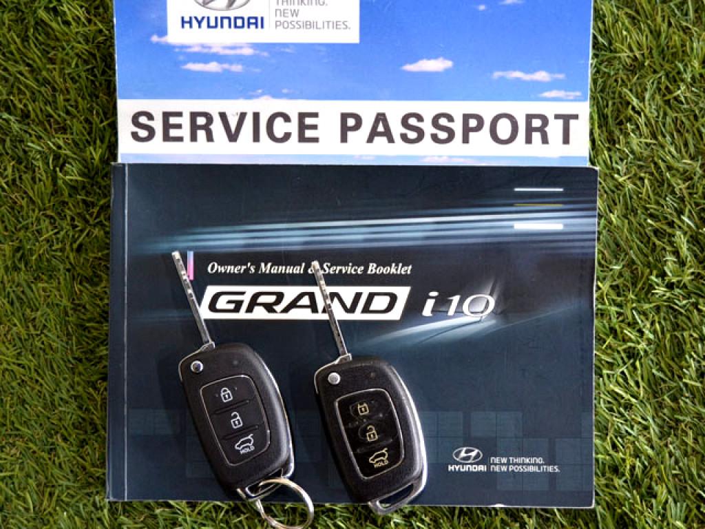 2017 HYUNDAI GRAND i10 1.2 FLUID