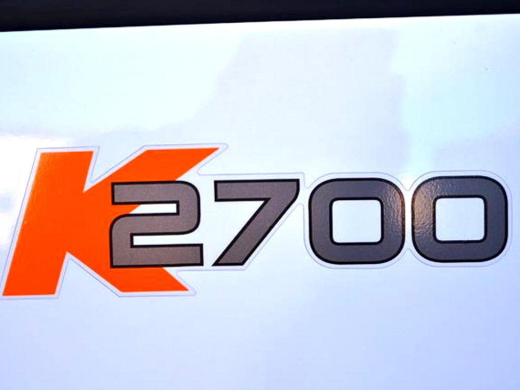 2019 K2700 SINGLE WHEEL