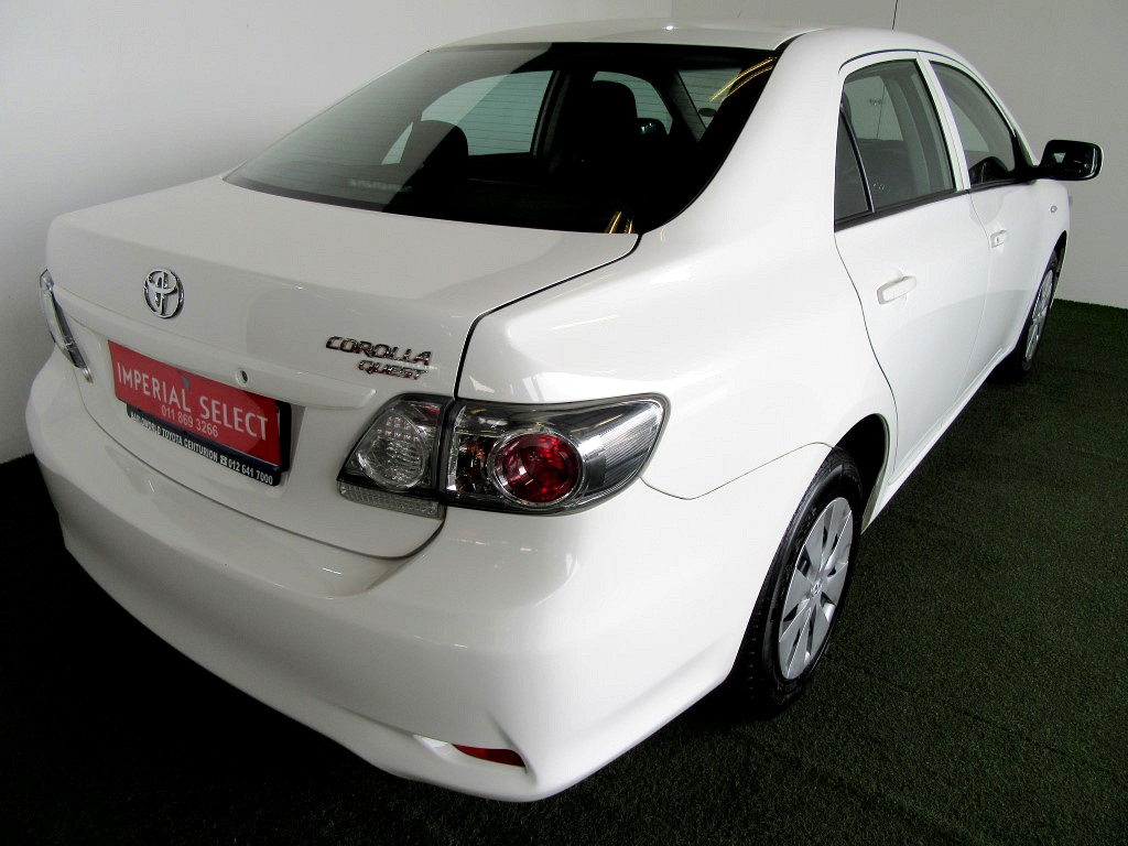 2018 TOYOTA COROLLA QUEST 1.6 AT