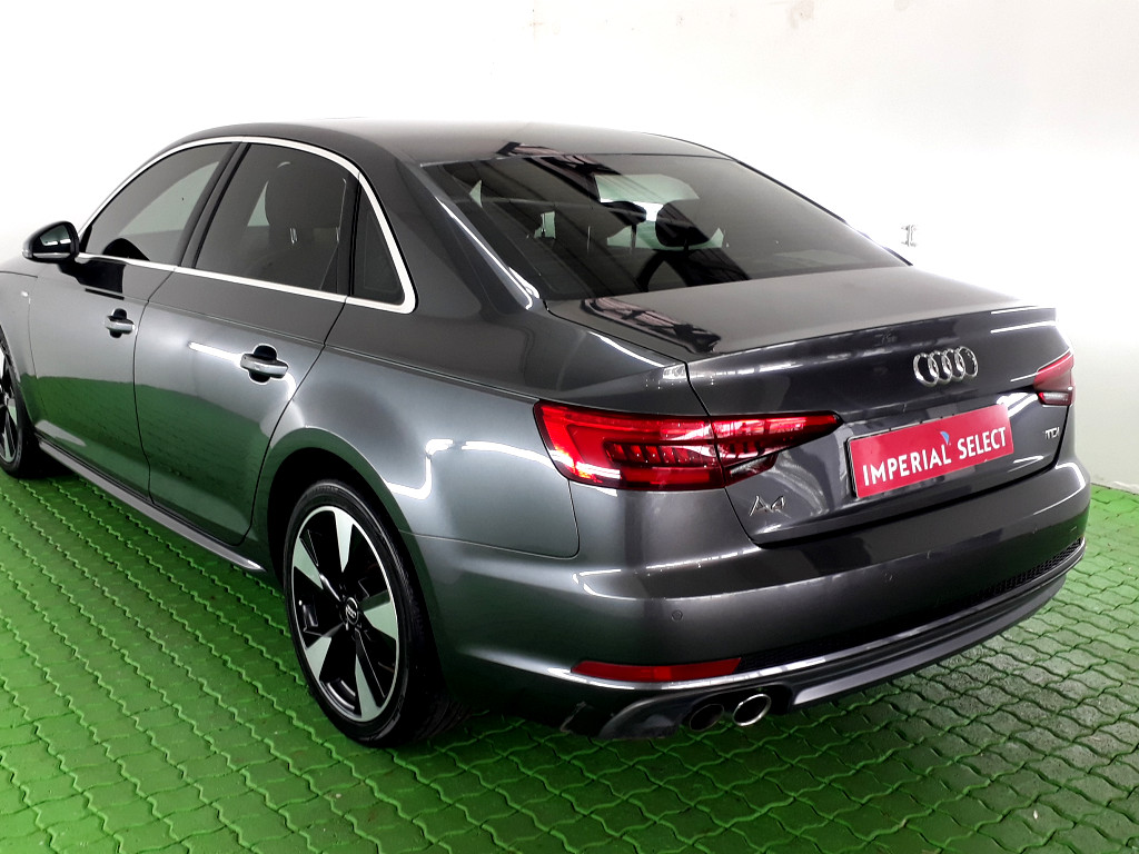 2017 AUDI A4 (B8) 2008 ‑ ON (B9) A4 2.0 TDI DESIGN STRONIC (B9)