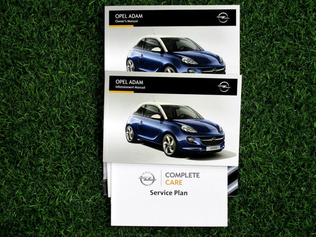 2015 Opel Adam 1.0t Jam (3dr)
