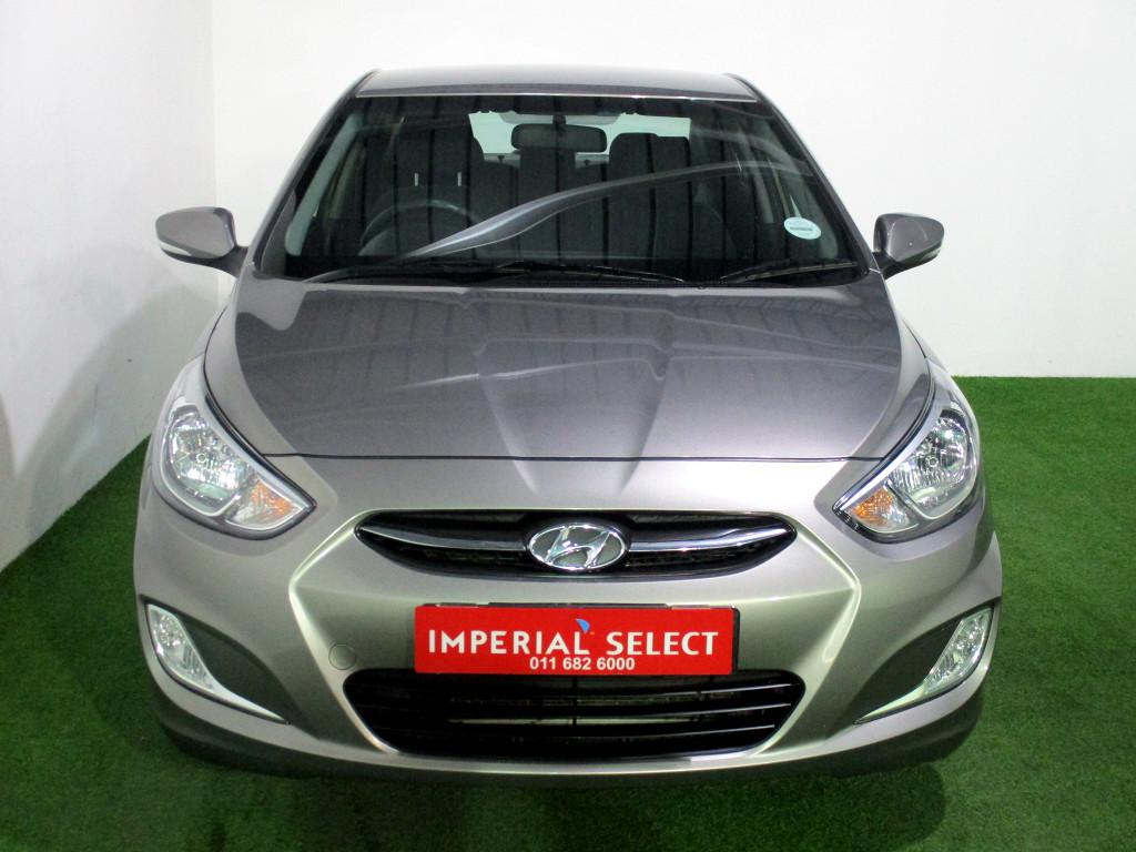 2018 Hyundai Accent 1.6 Gls/Fluid a/t