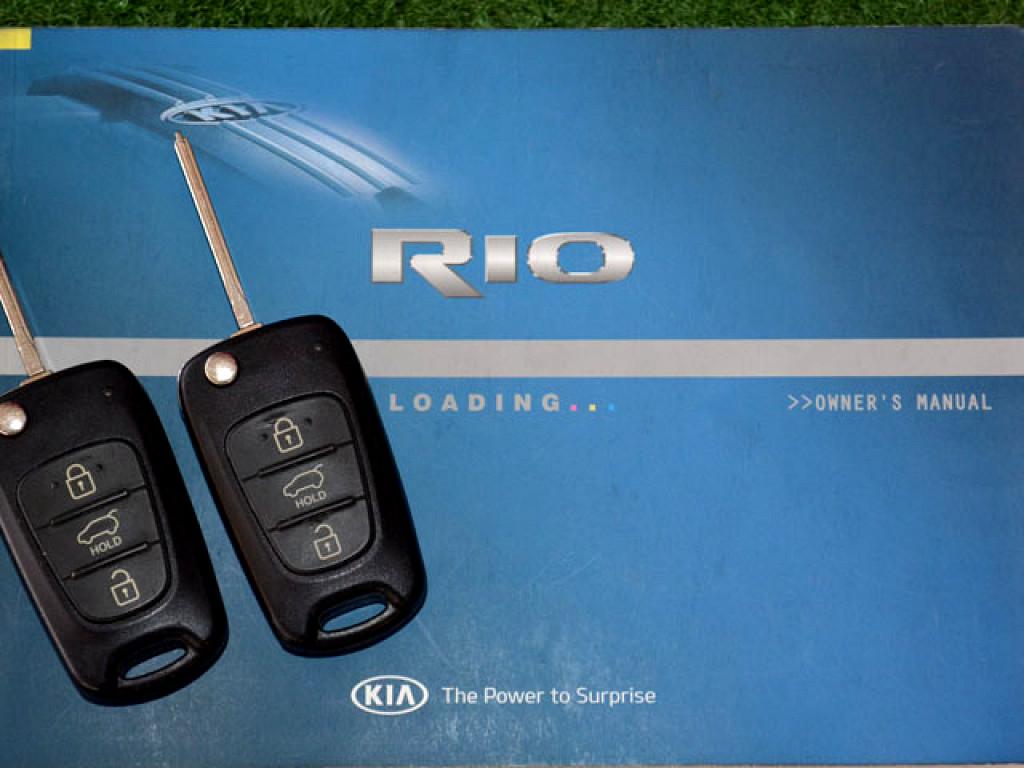 2013 KIA  RIO 1.4 TEC 5DR