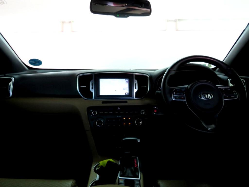 2017 KIA SPORTAGE 2.0 CRDi SX A/T AWD