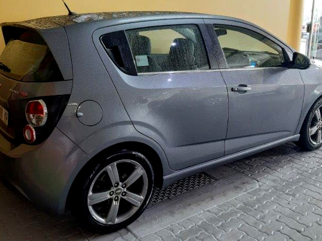 2014 Chevrolet Sonic Sonic 1.4t Rs 5dr