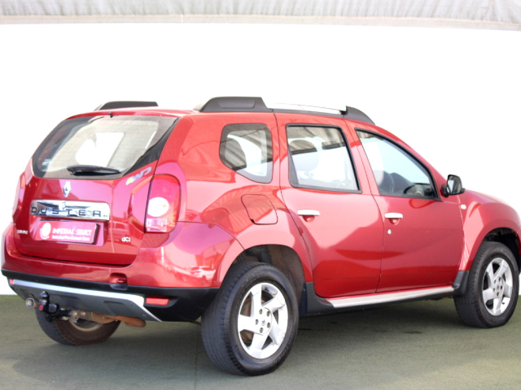 2014 DUSTER 1.5DCI 4X4 DYN With Tow Bar