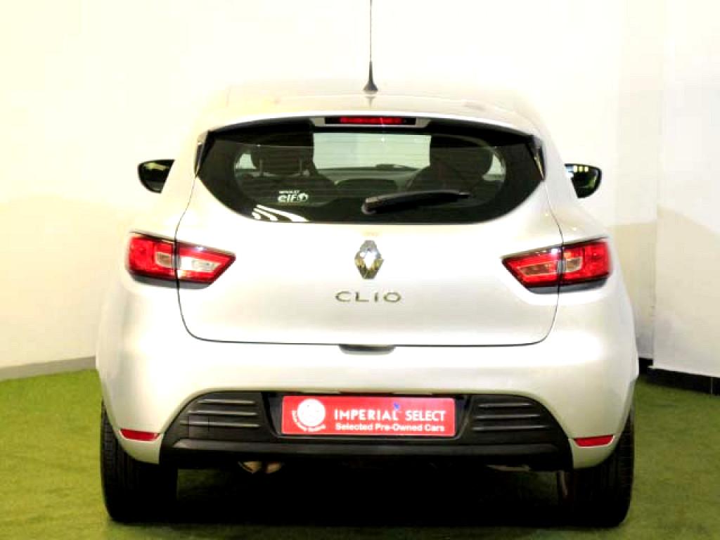 2018 RENAULT CLIO 1.2TURBO AUTO (88KW)